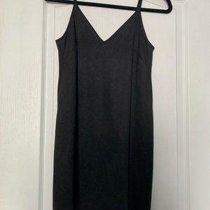 Aritzia Wilfred Free Vivienne suede mini dress